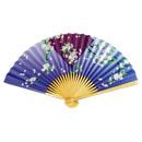 【18-109】6525白竹 紫ぼかし桜(5本1セット)