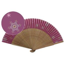 【aw282】雪花 赤紫(5本1セット)